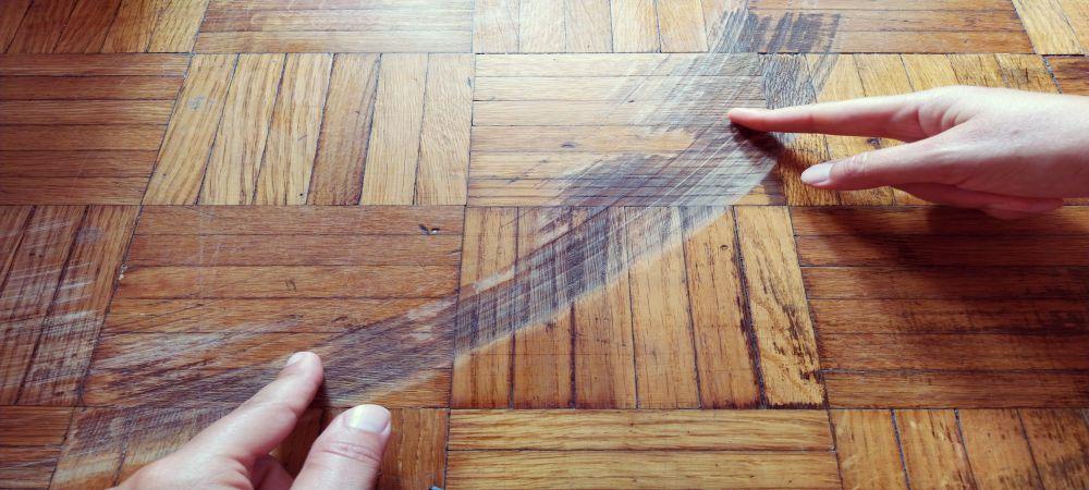 engineered hardwood flooring scratch