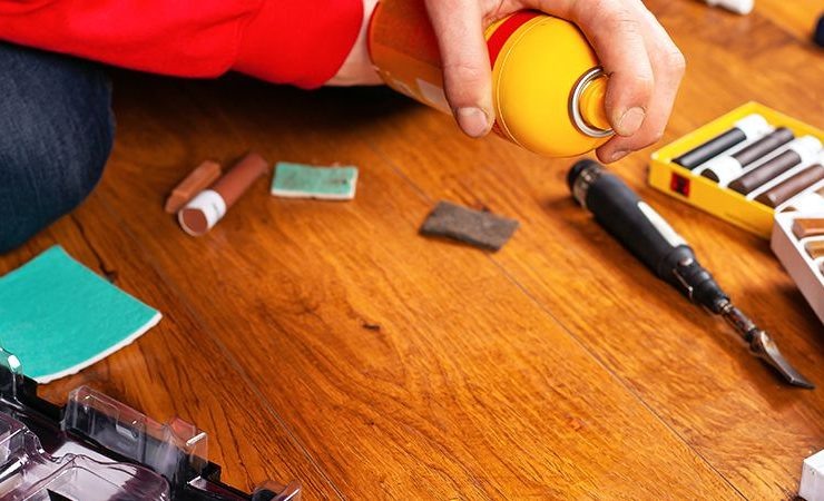 remove scratches from hardwood floors