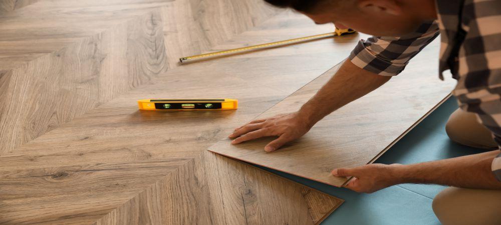 installation of parquet flooring
